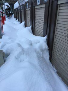 札幌 冬 屋外収納設備