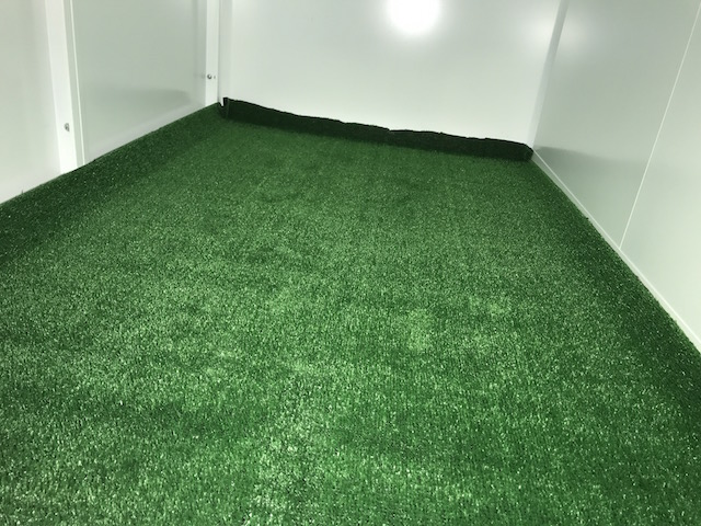新品の床材